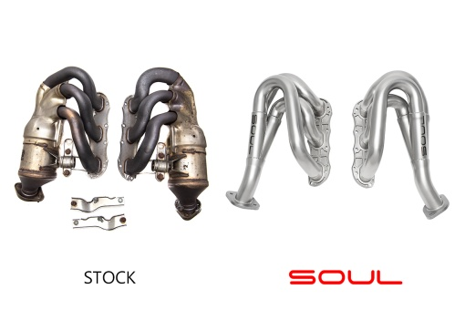 Soul Performance Products 981 Competition Headers - Comparison