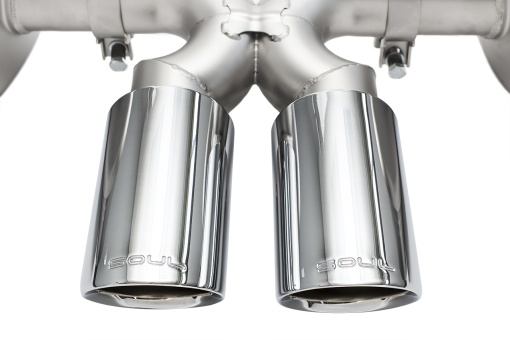 Porsche 987.1 Performance Exhaust System - Polished Chrome Tips