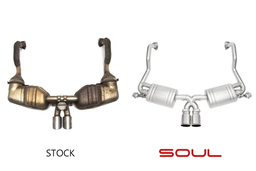 Soul Performance Products 987.2 Valved Exhaust System – Comparison