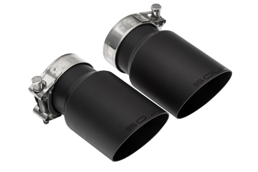Soul Slash Cut Single Wall Exhaust Tips