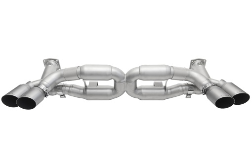 Soul Performance Products 991 Turbo Competition X-Pipe Exhaust System - Product - GT2 Style Single Wall Tips T