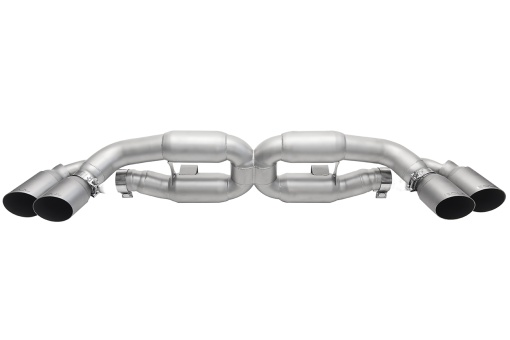 Soul Performance Products 991 Turbo X-Pipe Exhaust - Product - GT2 Style Single Wall Tips