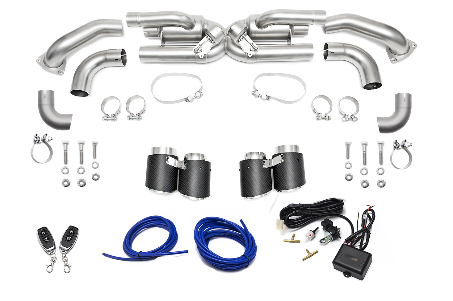 porsche 991 1 carrera base  without pse  valved exhaust