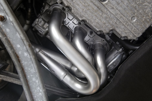 Soul Performance 981 Competition Headers – Installed Detail
