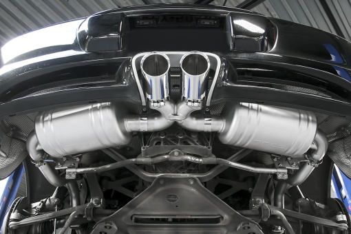 Porsche 987.1 Performance Exhaust System - Installed