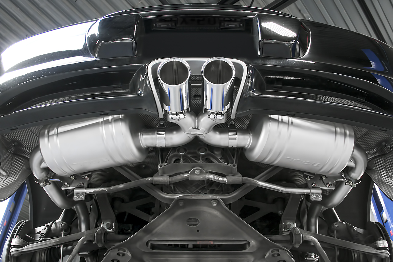 Porsche 987 1 Boxster Cayman Performance Exhaust System