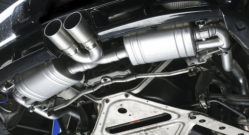 Soul Performance Parts 987.2 Valved Exhaust System – Underside