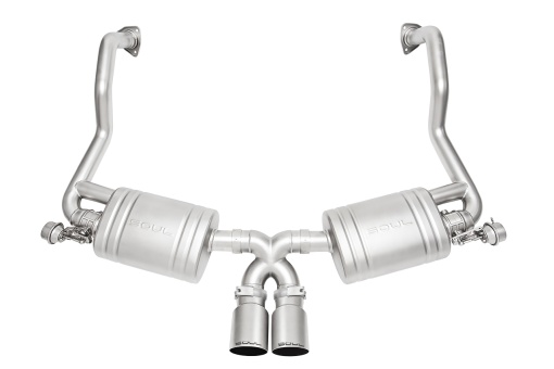 Porsche 987.2 Valved Exhaust System - Single Wall