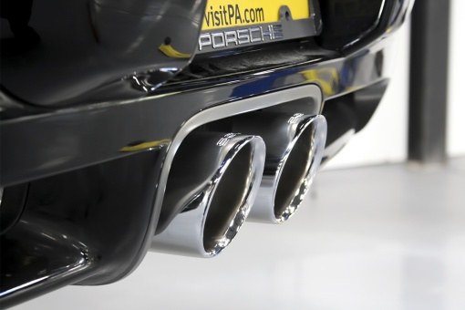 Porsche 987.1 Performance Exhaust Chrome Tips
