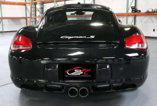 Black Porsche 987.2 Custom Exhaust