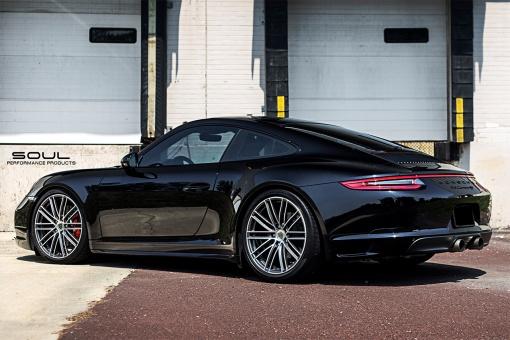 Porsche Carrera S 991.2 Black Side View