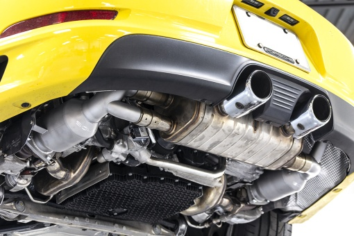 Soul Performance 991.2 Carrera (with PSE) Sport Catalytic Converters - Yellow