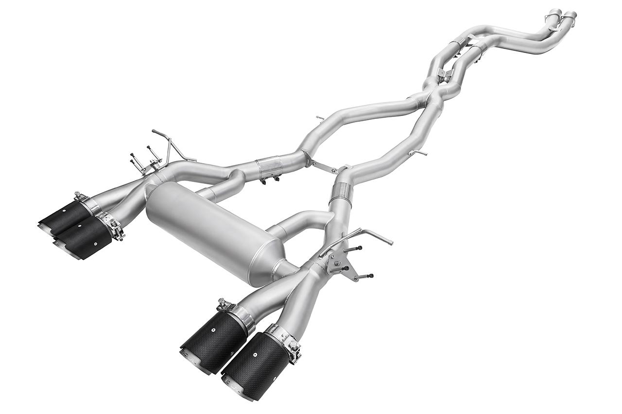 Bmw M4 Carbon Fiber Exhaust Tips