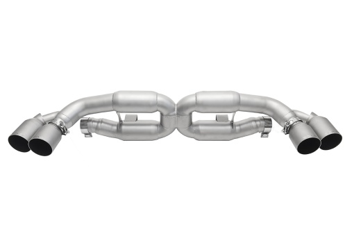 Soul Performance Products 991 Turbo X-Pipe Exhaust - Product - Straight Cut Single Wall Tips