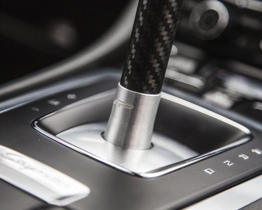 Agency Power Cup Shifter Porsche PDK Shift Knob Close Up