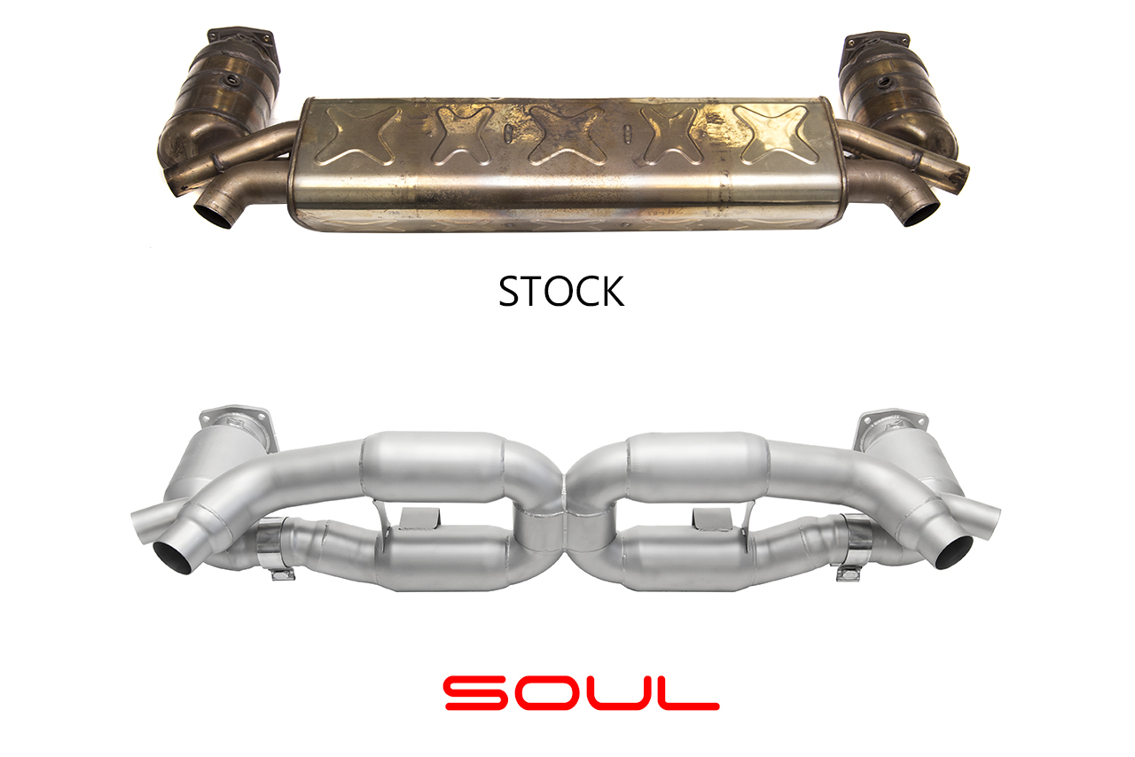 ferrari f12 x pipe with Porsche 991 Turbo Sport X Pipe Exhaust System on F12 besides 4685 Sistema Escape Ipe Mercedes Benz Cls 63 Amg W211 together with Porsche 981  petition Package in addition 5306 Escape Armytrix Ss Inox Valvetronic Nissan Gt R R35 in addition Mclaren Special Operations Unveils Two Unique Builds.