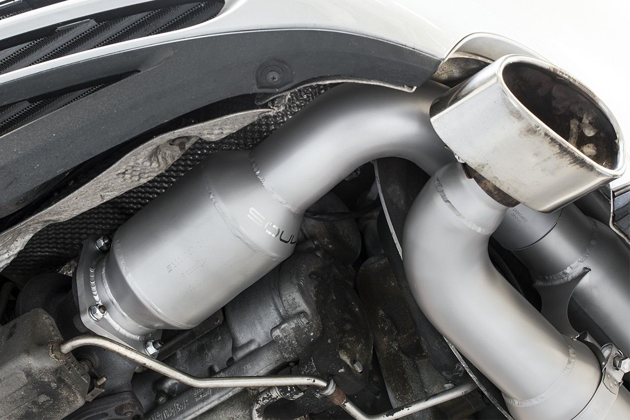 Porsche 996 Turbo Sport X Pipe Exhaust System Soul