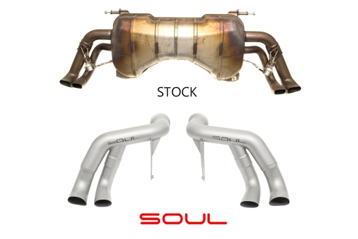 Audi R8 2017 Race exhaust comparison - Soul Performance Parts