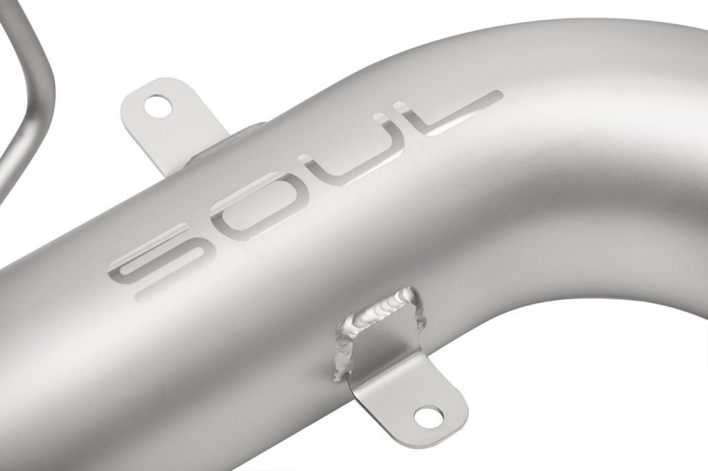 Soul Performance Products McLaren Competition Downpipes - Detail