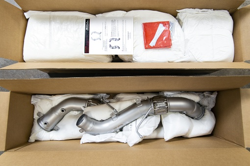 Soul Performance Products McLaren Competition Downpipes - Packaging