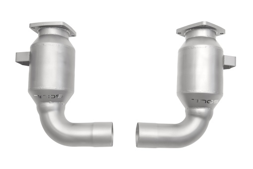 Soul Performance 991.2 Carrera (NON PSE) Sport Catalytic Converters - Product Underside