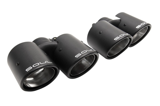 SOUL 997.1 Carrera Carbon Fiber Exhaust Tips