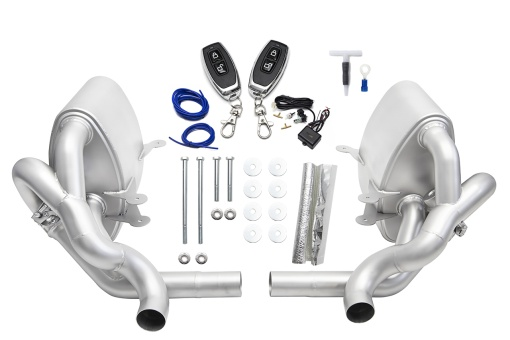 SOUL 997.1 Carrera Valved Exhaust - Packing List