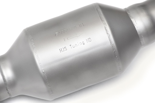 Soul Performance Products Range Rover Supercharged Cat Bypass Downpipes - Detail