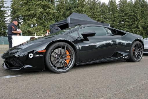 Lamborghini Huracan LP610-4 GiroDisc Iron Rotor Installed