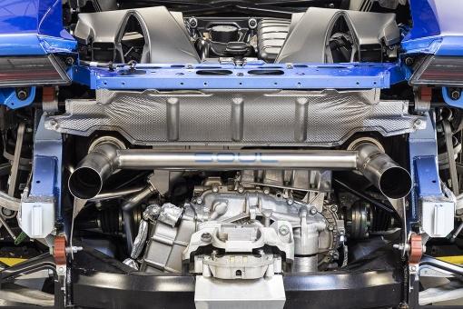 SOUL Lamborghini Huracan Performante Titanium Race Exhaust - Installed