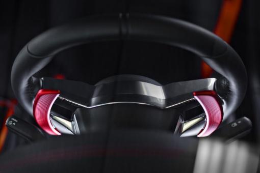 Raceseng Porsche PDK Shifter Paddles - Installed