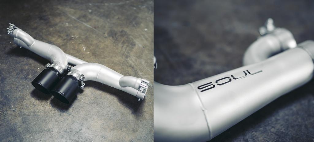 GT3 center muffler bypass - Soul Performance Parts