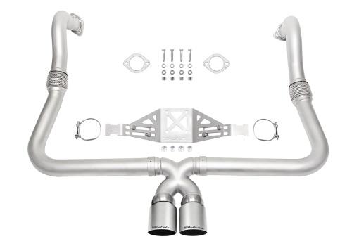 Porsche 718 performance exhaust package - Soul Performance Parts