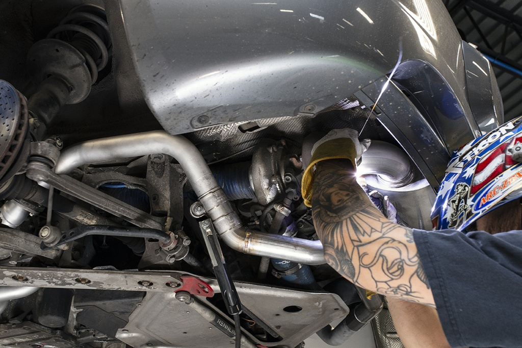 A performance 987.1 turbo build on a Porsche - Soul Performance Parts