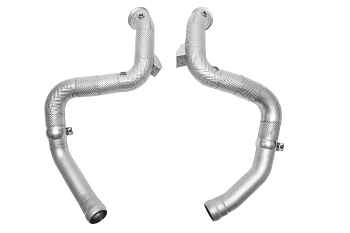 Powerful competition downpipes for the Mercedes C63 AMG - Soul Performance Parts